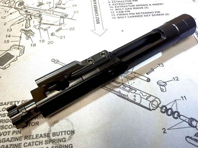Armory Dynamics Enhanced Bolt Carrier Group AR15/M4 BCG