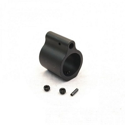 Armory Dynamics Low Profile Stainless Gas Block .750 Black Nitride